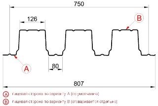 Профнастил Н114-750