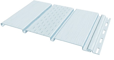 Белый (панель с перфорацией среднего листа)