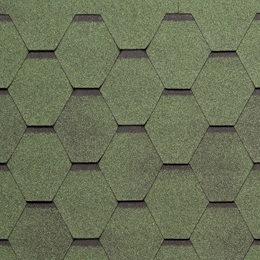 Tegola Нордик зеленый с отливом