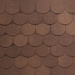 Tegola Антик коричневый с отливом