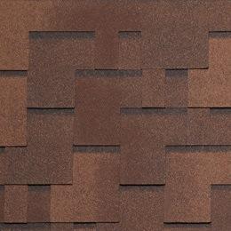 Tegola Альпин коричневый с отливом