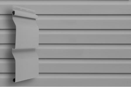 Сайдинг Grand Line D4 (slim) Серый