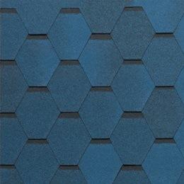 Tegola Нордик синий с отливом