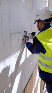 Испытание Фасадного дюбеля